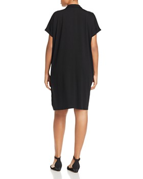Eileen Fisher Plus - Easy Fit Shirt Dress - 100% Exclusive