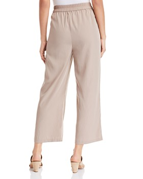Eileen Fisher - Wide-Leg Cropped Pants