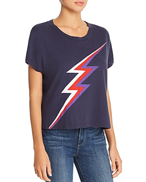 Sundry Square Lightning Bolt Tee