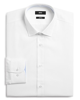 BOSS - Contrast Slim Fit Dress Shirt