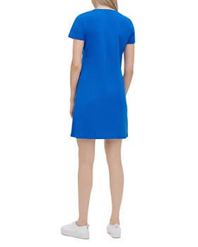 Calvin Klein - Lace-Up Tee Dress