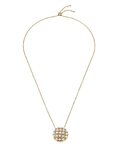 "Majorica - Chain Pendant Necklace, 25"""