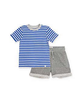 Sovereign Code - Boys' Striped Tee & Shorts Set - Baby