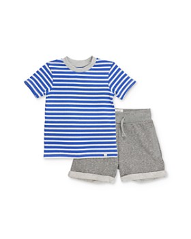 531a1df63d9bc Sovereign Code - Boys' Striped Tee & Shorts Set - Baby ...