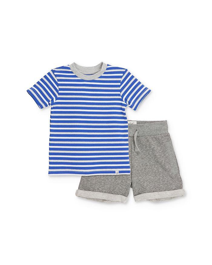 Sovereign Code - Boys' Striped Tee & Shorts Set - Baby