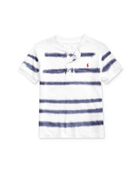 Ralph Lauren - Boys' Dyed-Stripe Henley Tee - Little Kid