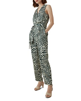 KAREN MILLEN - Animal-Print Jumpsuit