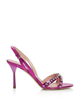 Miu Miu - Women's Jewel Strappy High-Heel Sandals