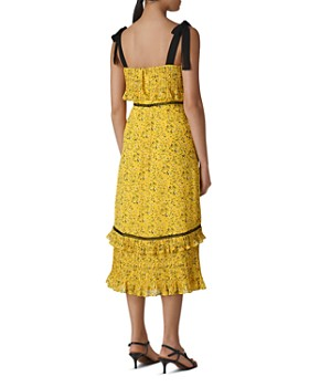 Whistles - Ditsy-Blossom Pleated Dress
