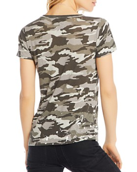 CHASER - Distressed Camo Tee