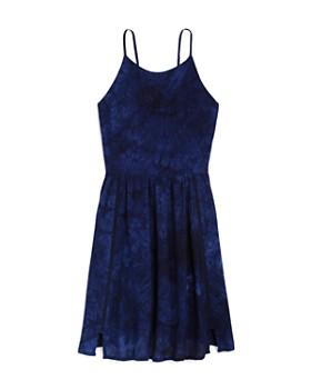 AQUA - Girls' Tie-Dyed Skater Dress, Big Kid - 100% Exclusive