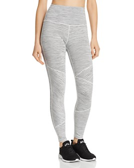 Beyond Yoga - Out Of Line High-Rise Leggings