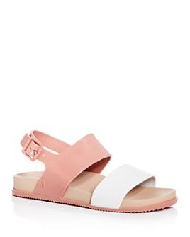 Melissa - Women's Cosmic III Color-Block Slingback Sandals
