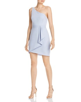 BCBGMAXAZRIA - Eve Draped Shirt Dress