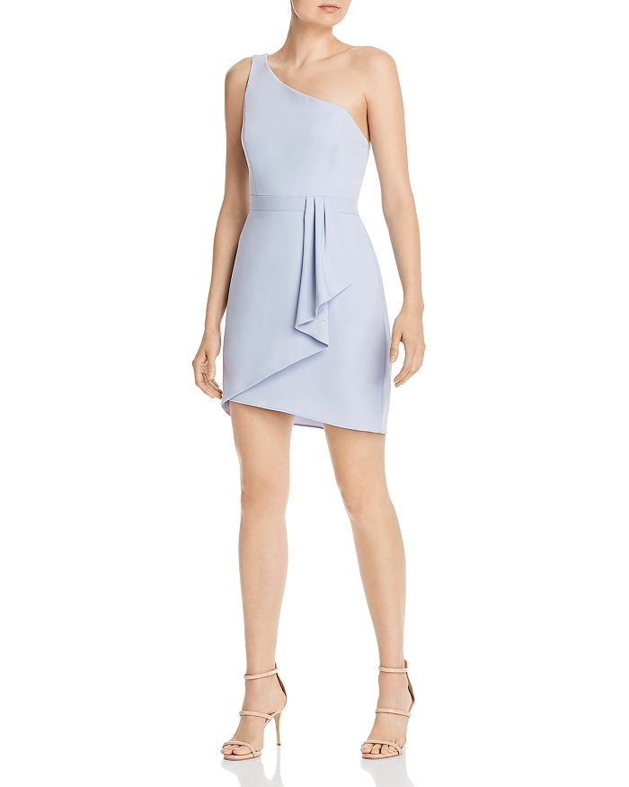 BCBGMAXAZRIA - Eve Draped Shirt Dress
