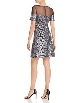 Tadashi Shoji - Embroidered Floral Sequin Dress