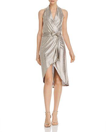 Ramy Brook - Mara Metallic Halter Dress