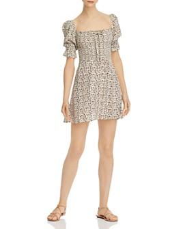 Faithfull the Brand - Beldhi Floral-Print Mini Dress