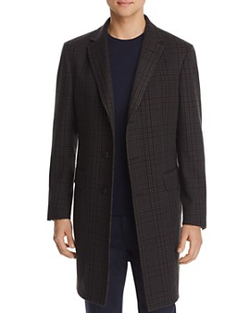 Z Zegna - Plaid Regular Fit Topcoat