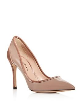 Armani - Women's Decolette Kitten-Heel Pumps
