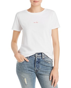 FRENCH CONNECTION - Embroidered Be Nice Tee
