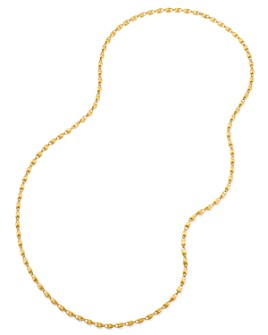 """Marco Bicego - 18K Yellow Gold Lucia Long Chain Link Necklace, 47.25"""""""