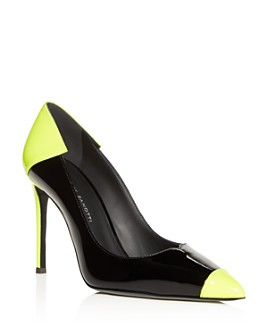 Giuseppe Zanotti - Women's Color-Block Cap-Toe Pumps