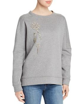 Elie Tahari - Chantae Embellished Sweatshirt