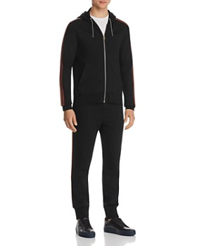 Paul Smith - Stripe-Trimmed Hoodie & Jogger Pants