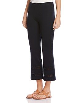 Bailey 44 - Poseidon Cropped Flared Pants