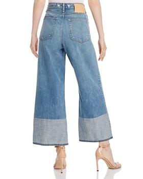 rag & bone - Ruth Super High-Rise Ankle Wide-Leg Jeans in Neville
