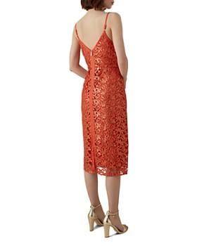 KAREN MILLEN - Sequined Cutwork-Lace Dress