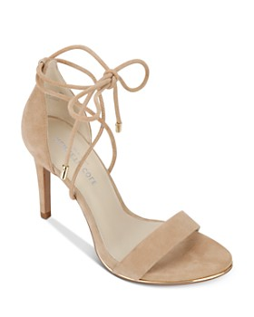 Kenneth Cole - Women's Berry Suede Ankle Tie High-Heel Sandals