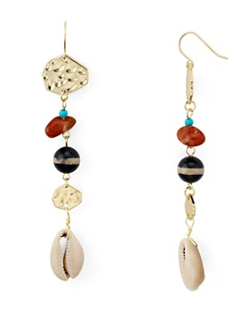 AQUA - Shell Linear Drop Earrings - 100% Exclusive
