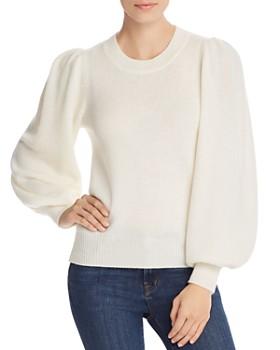 AQUA - Bishop-Sleeve Cashmere Sweater - 100% Exclusive