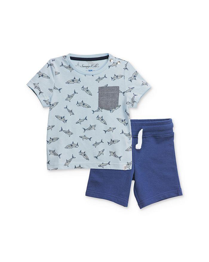 Sovereign Code - Boy's Shark Tee & Shorts Set - Baby