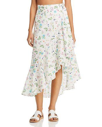 Paper London - Lagos Silk Wrap Skirt
