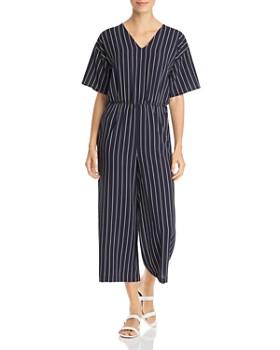 Vero Moda - Helle Pinstriped Jumpsuit