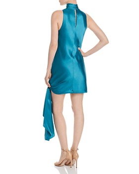 Cinq à Sept - Denise Tie-Hem Silk Mini Dress