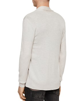 ALLSAINTS - Mode Merino Wool Open Cardigan