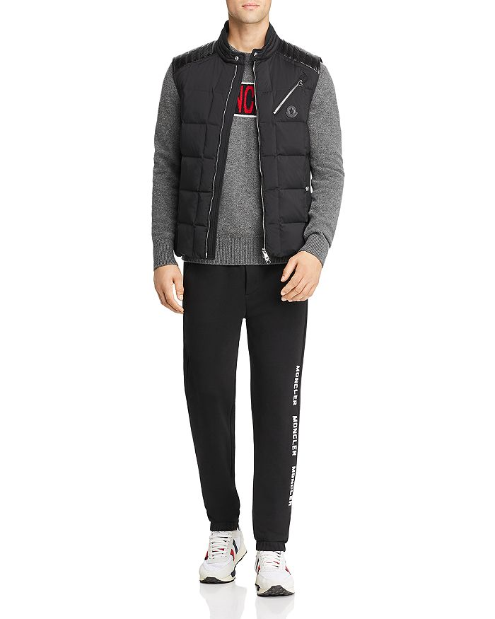 Moncler - Holsteiner Puffer Vest, Logo Sweater & Logo Sweatpants