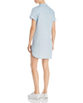 Billy T - Heart-Motif Mini Shirt Dress