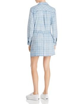 Billy T - Plaid Mini Shirt Dress