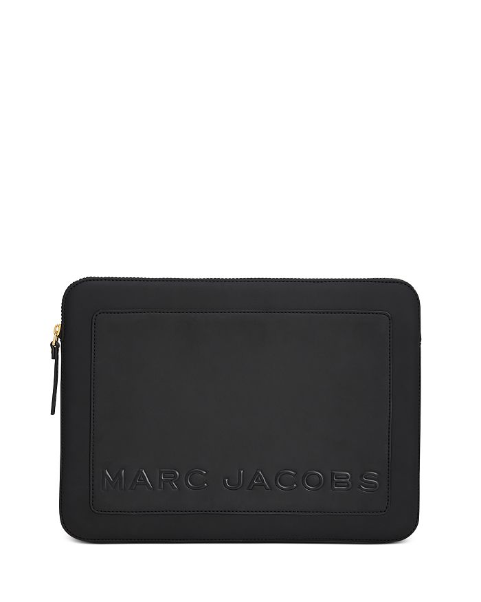 "MARC JACOBS - The Box 13"" Leather Laptop Case"