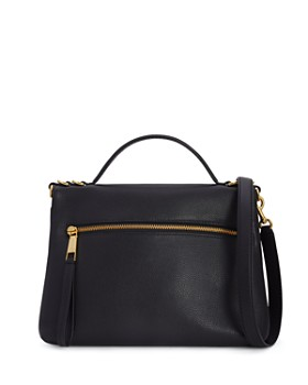 MARC JACOBS - The Two Fold Medium Leather Shoulder Bag