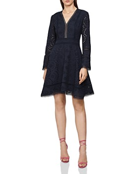 REISS - Selina Lace Dress