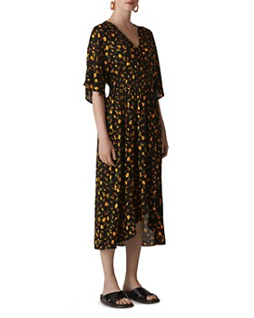 4df9aeb0fb2 Whistles - Aster Floral Midi Dress ...