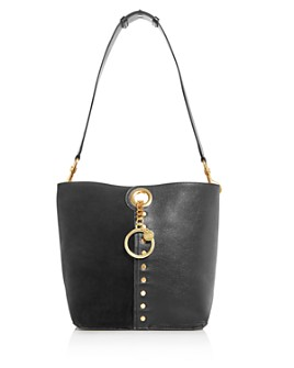 See by Chloé - Gaia Suede & Leather Shoulder Bag