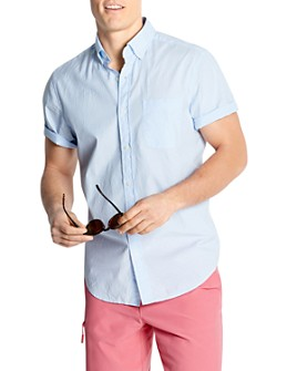 Vineyard Vines - Murray Short-Sleeve Swiss-Dot Slim Fit Button-Down Shirt