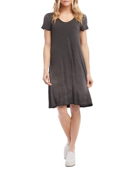 Karen Kane - Olivia Vintage Wash Jersey T-Shirt Dress
